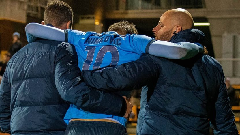 Ninkovic: 'I couldn't move my foot...'