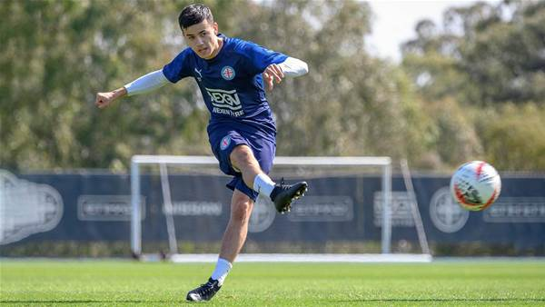 Stefan Colakovski's re-signing from the Heart