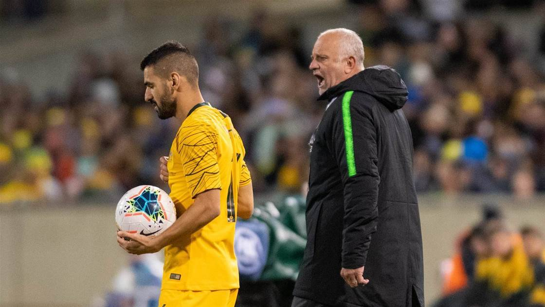'Show me what you've got!' No excuses for Arnie's Roos
