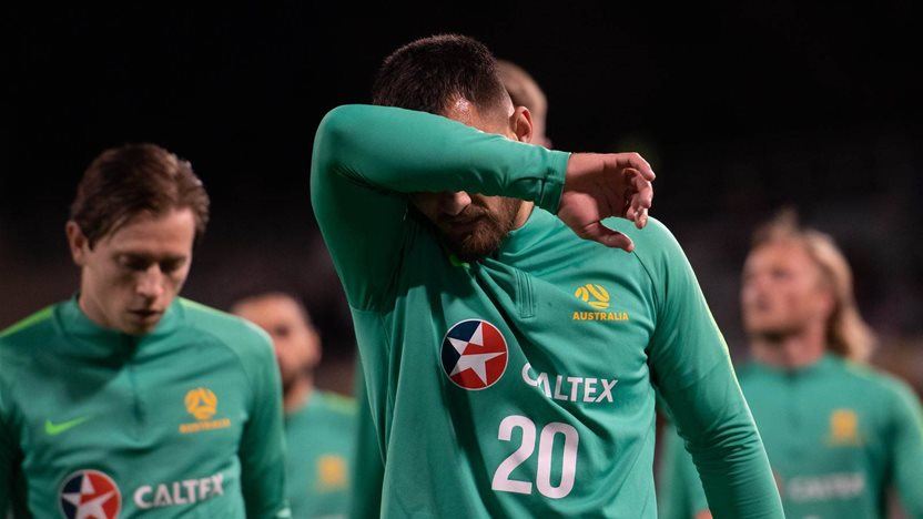 Socceroo set for sideline spell
