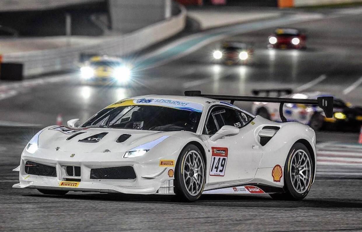 David Dicker wins Ferrari race in Melbourne