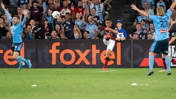 Wanderers' Baccus finally has VAR win