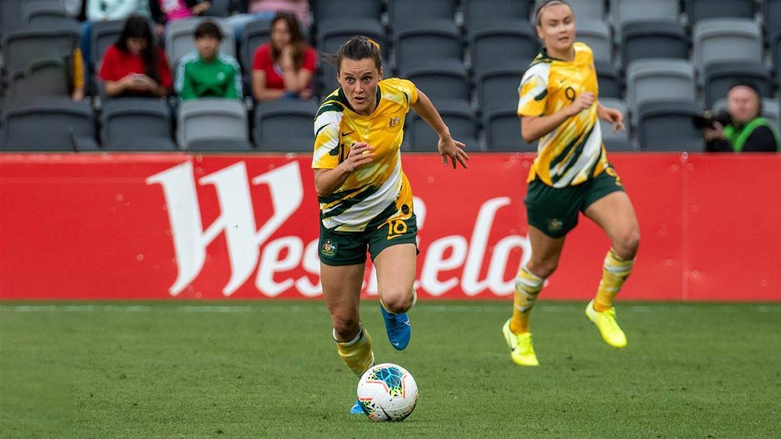 No mercy Matildas: 'We want to finish with a lot of goals'