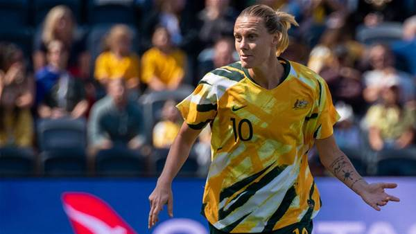 'We're just chomping at the bit' - Van Egmond impatient for Matildas' reunion