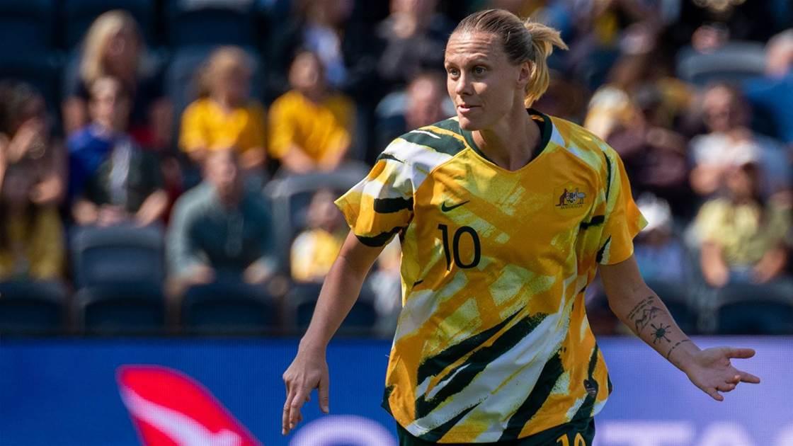 'We're just chomping at the bit' - Van Egmond impatient for Matildas' reunion