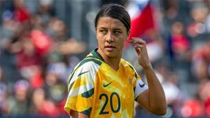 Matildas star Kerr coy over club future