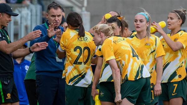 Matildas coach demands improvement