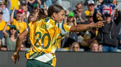 'Kerr to UK only helps Matildas'