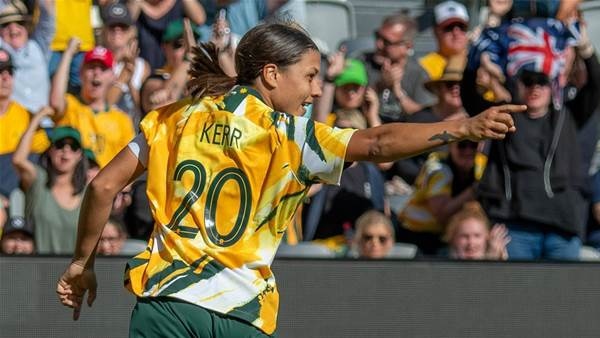 Milicic: Kerr continues to spark Matildas