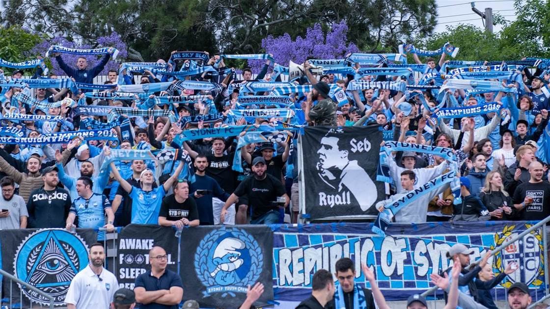Sydney FC condemn 'over-zealous' security