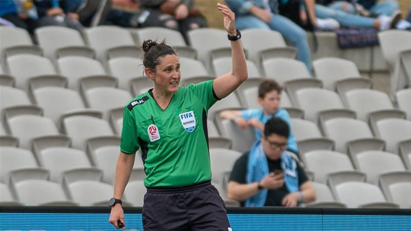 A-League gets first female referee