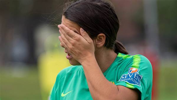 No break for Matildas for five years: Kerr