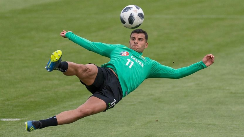 Nabbout keen to push Socceroos case