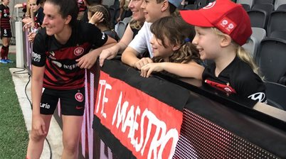 'Ella's our favourite player!': Kids show Derby passion in Wanderland
