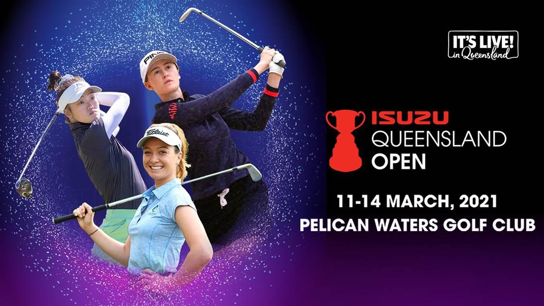 Trio to give glimpse of future at Qld Open