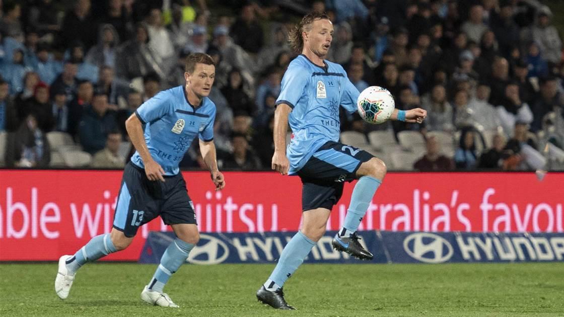 Jetset Socceroo Grant plays 200th Sydney FC game