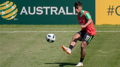Daniel Arzani 'back in training'