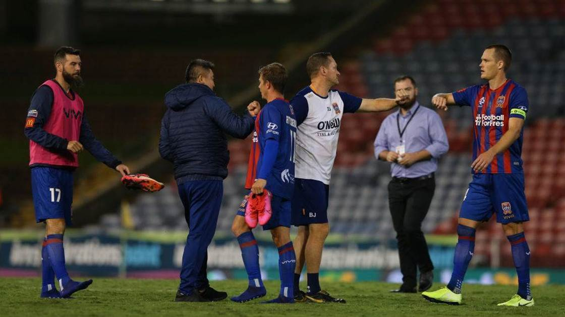 Jets player becomes first A-League COVID-19 diagnosis