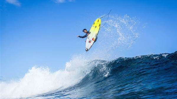 Medina Wins At Teahupoo, Tastes Blood.