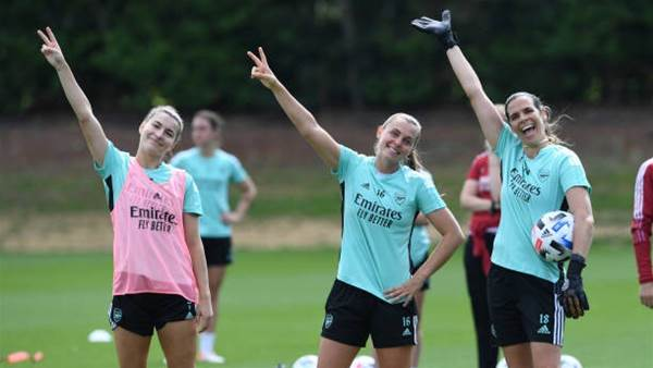 Arsenal's Matildas are absolutely flying