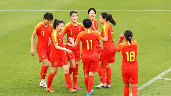 China rout Thailand in Olympic qualifier