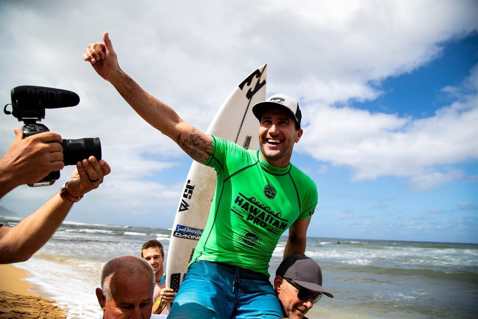 Parko Victorious at the Hawaiian Pro