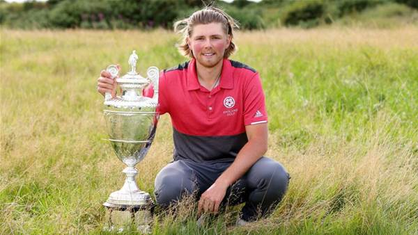 Joe Long wins Amateur Championship at Royal Birkdale
