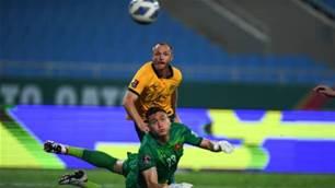 Socceroos' sole A-League star wins 'tough' slog against Vietnam