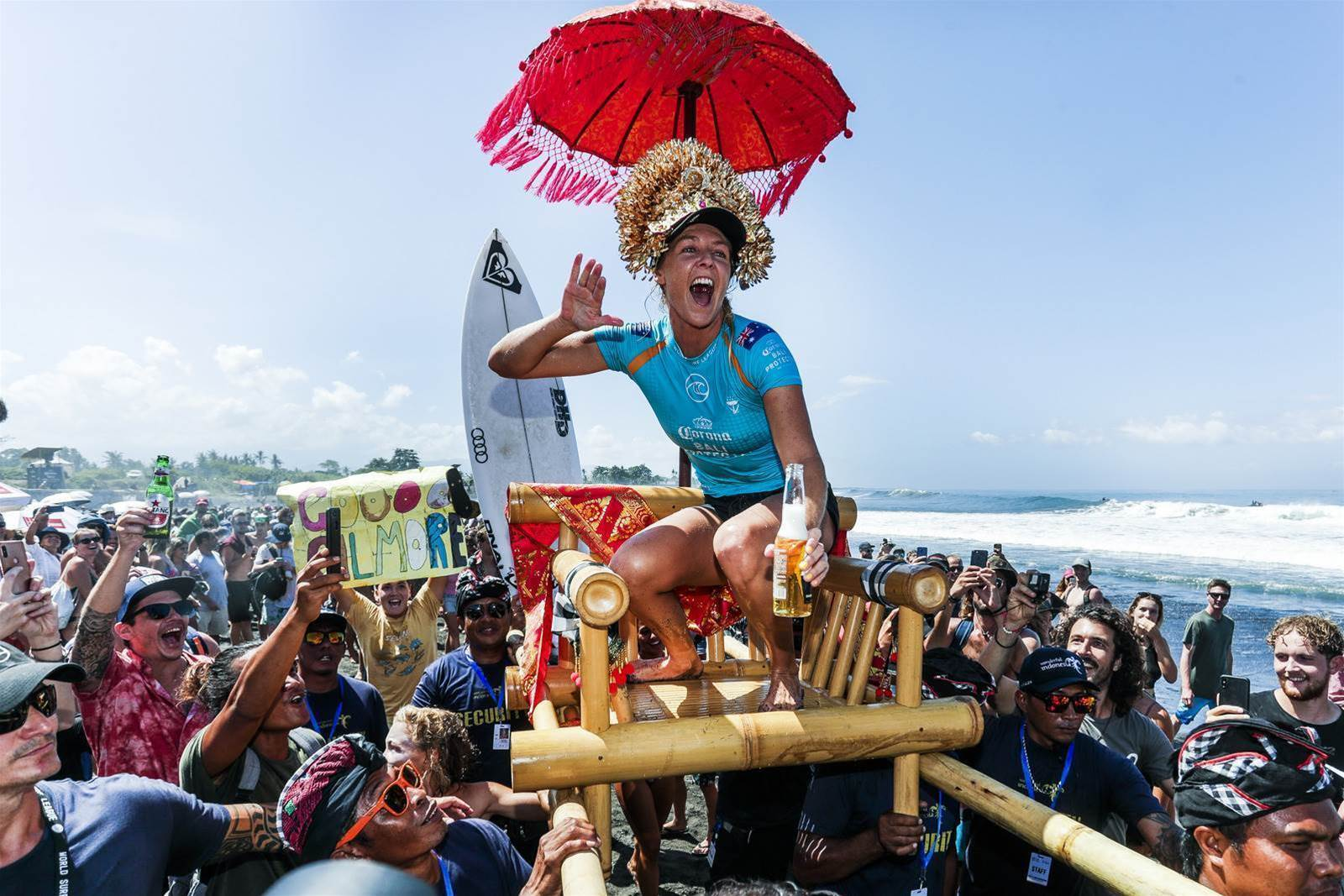 Kanoa Igarashi and Steph Gilmore Victorious in Bali