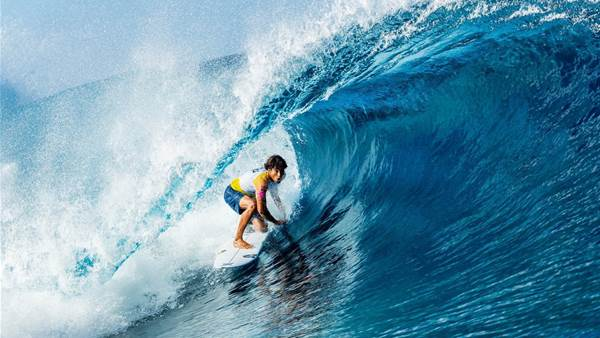 The First Axes Fall at Teahupoo