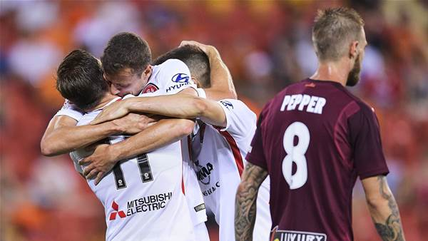 """It's turning for us"" - Wanderers smash and grab in Brisbane"