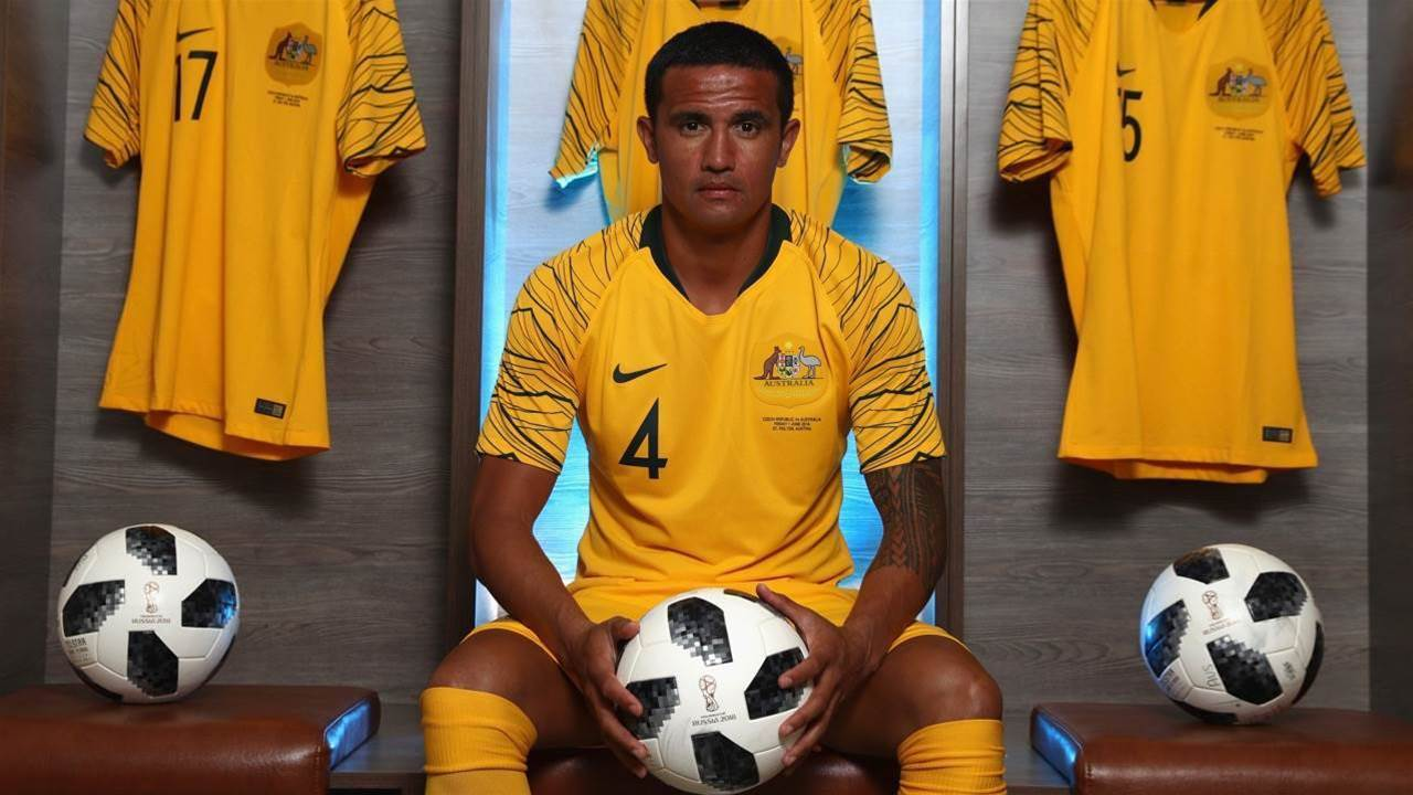 Cahill: I chose Australia and the rest is history
