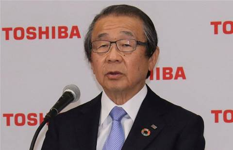 Embattled Toshiba board chairman vows to be 'agent of positive change'