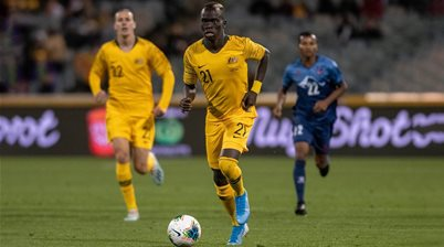 Socceroos need to be more clinical: Mabil
