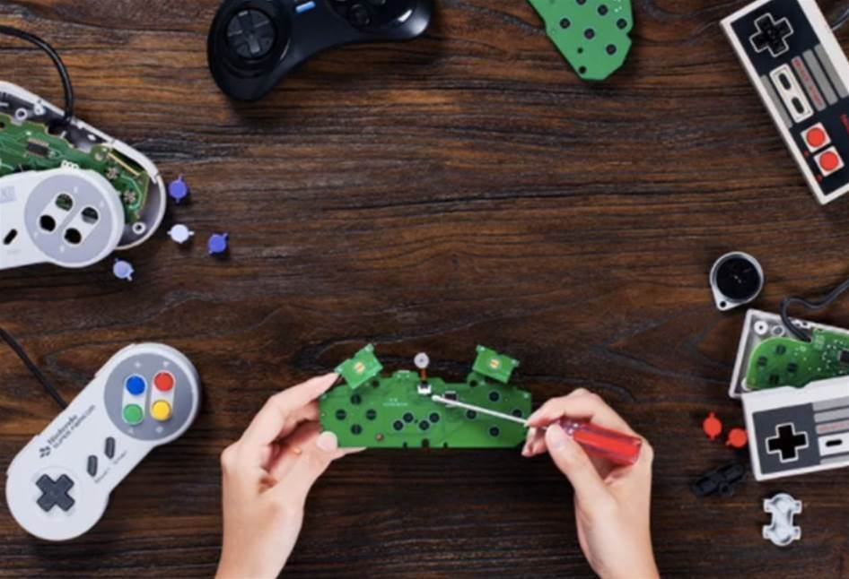 Cut the cord on your retro gamepads with 8BitDo's DIY kits