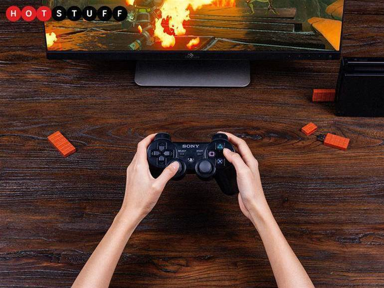 8Bitdo's new USB adapter lets you use a PS4 controller with your Nintendo Switch