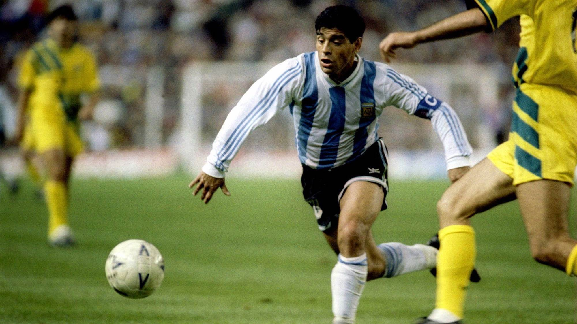 When the Socceroos met Maradona at the SFS