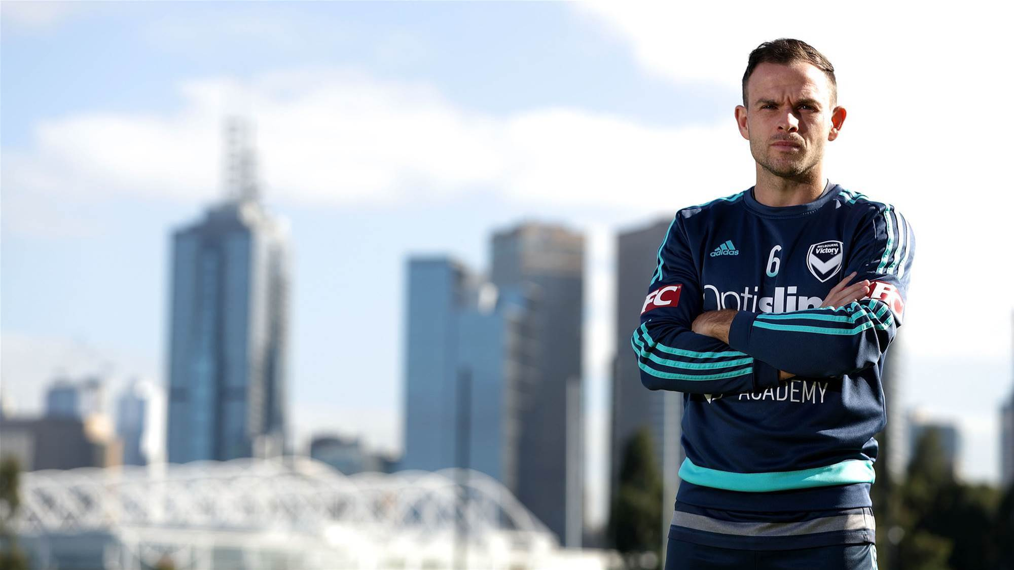 Leigh Broxham on milestone: I'll enjoy it when I'm finished