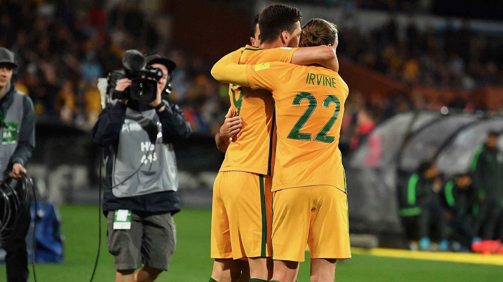 Socceroos primed for TV ratings record