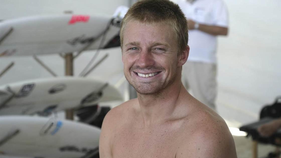 Kolohe Andino Cheats on Shaper and Wins Heat