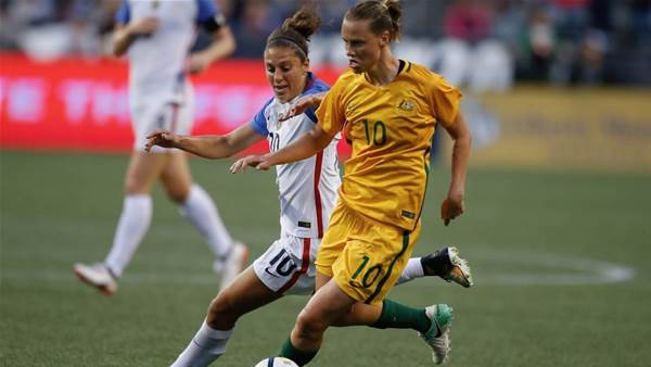 Carli Lloyd: Stajcic sacking can fire up Matildas