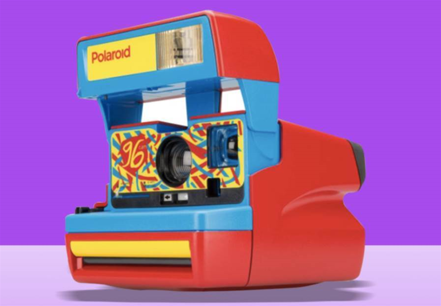 Polaroid's limited edition 96 Cam is a colourful love letter to the '90s
