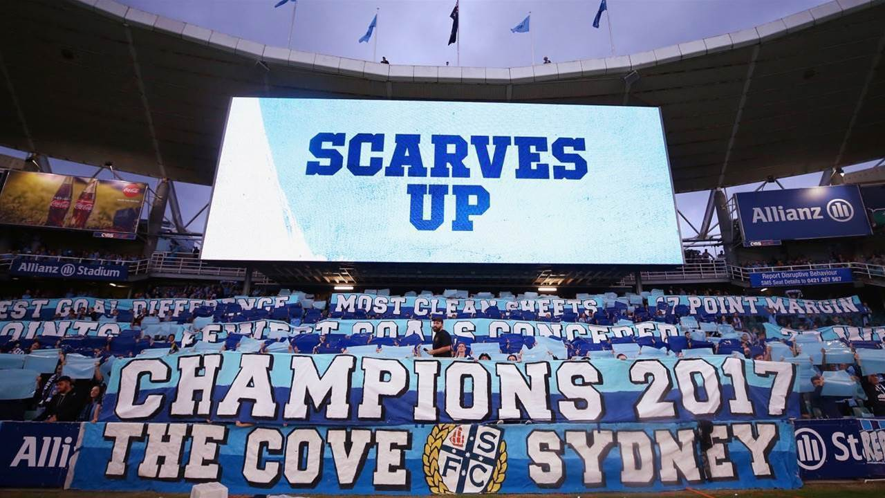 Are Sydney FC fans really Sky Blue till they die?