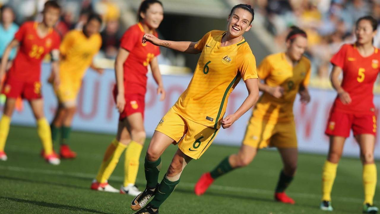 Logarzo: Matildas weren't viewed as athletes