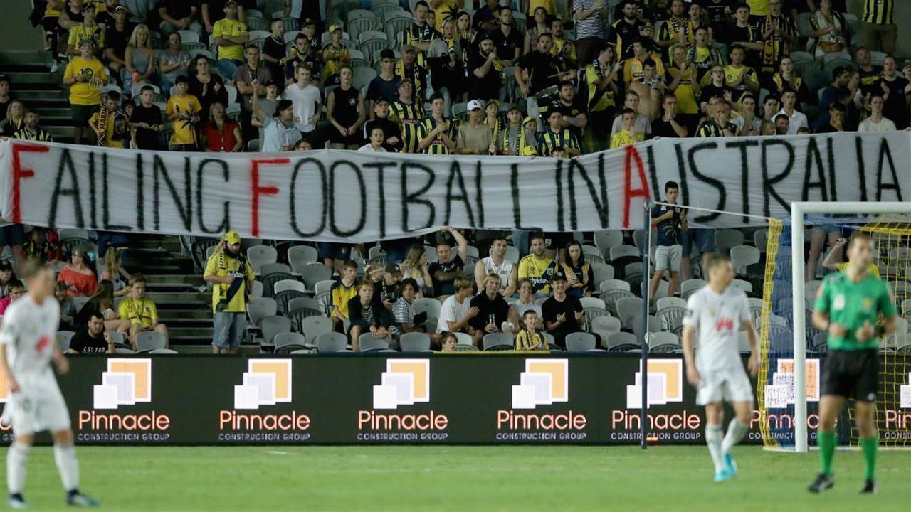 Australian football fans: We won't be taken for granted any more