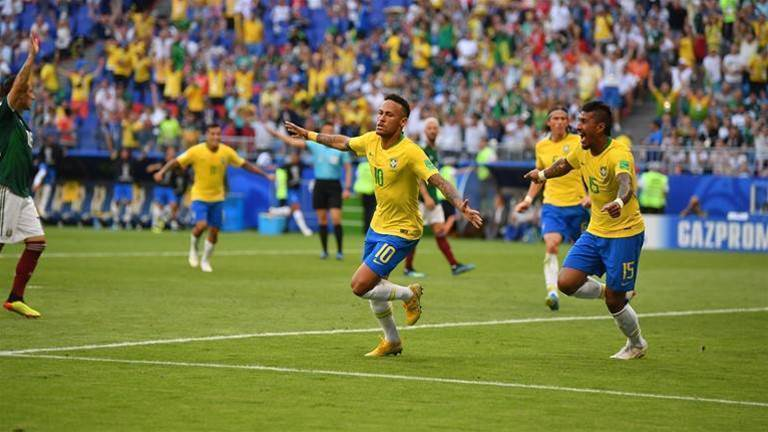 Brazil v Mexico player ratings