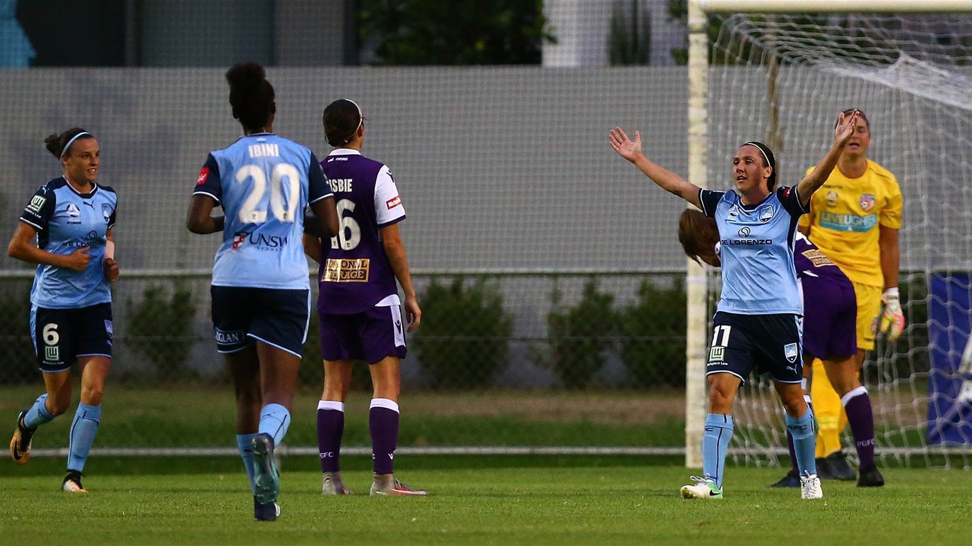 Sydney FC too strong for Sam Kerr's Perth
