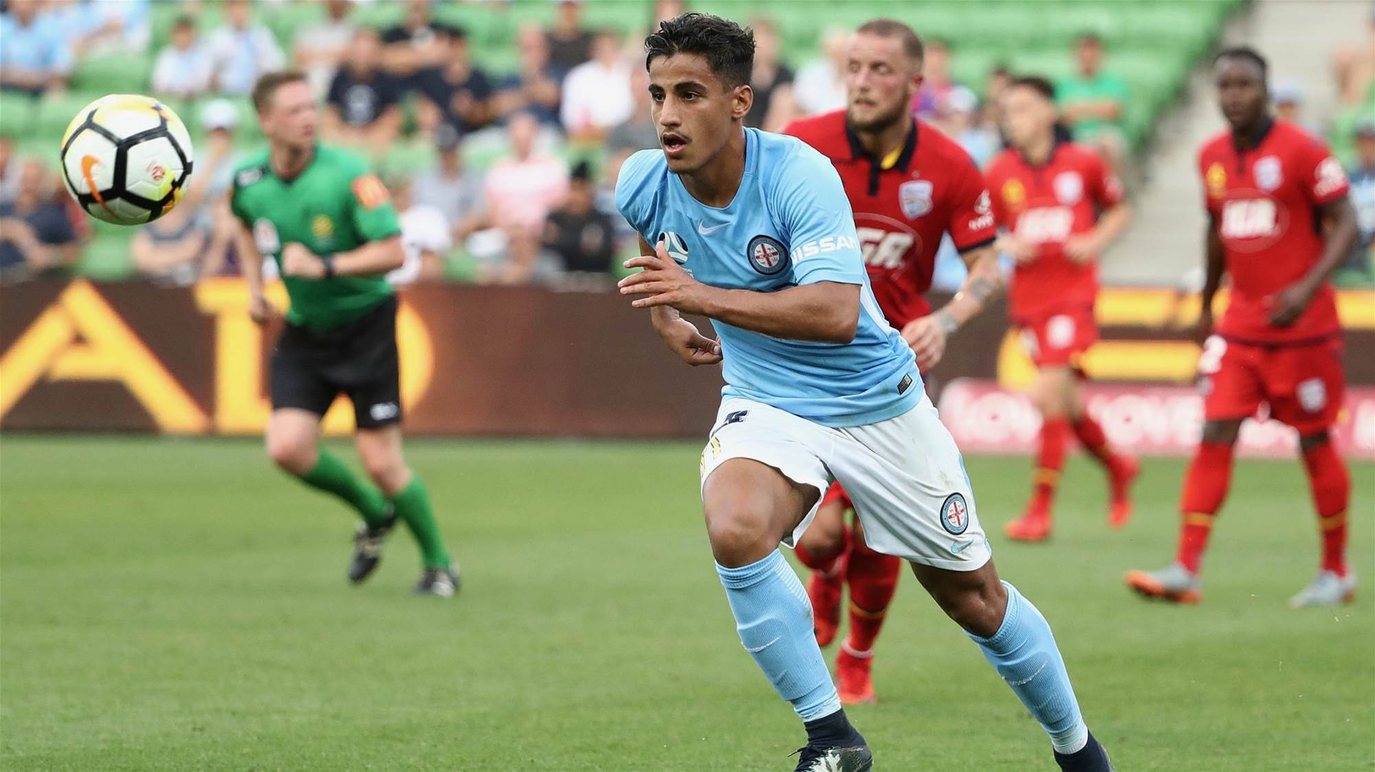 Van Marwijk: Arzani can make a difference.