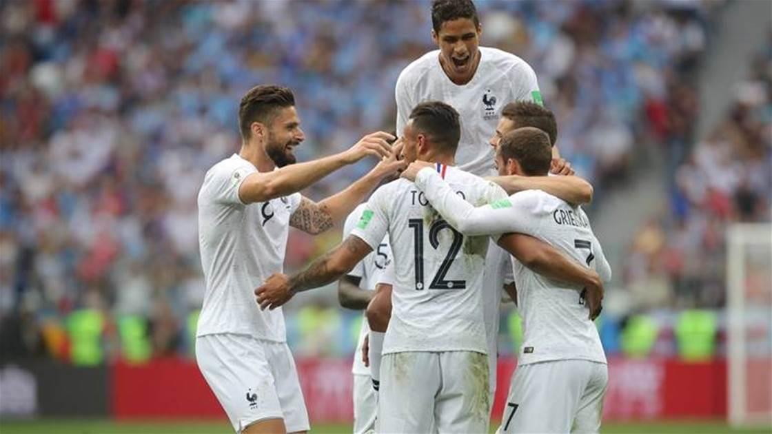 Uruguay v France player ratings
