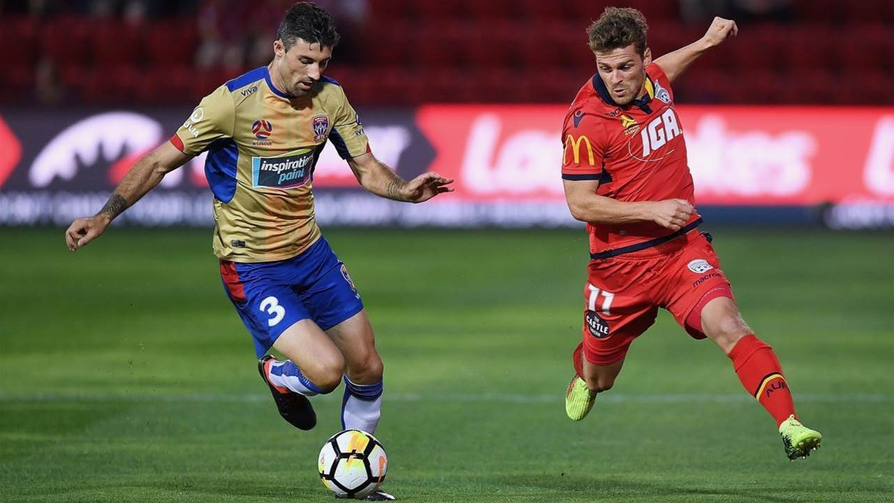 Adelaide United vs Newcastle Jets Player Ratings